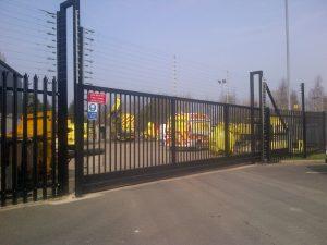 electric gates preston