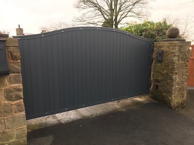 Aluminium Single Leaf Gate